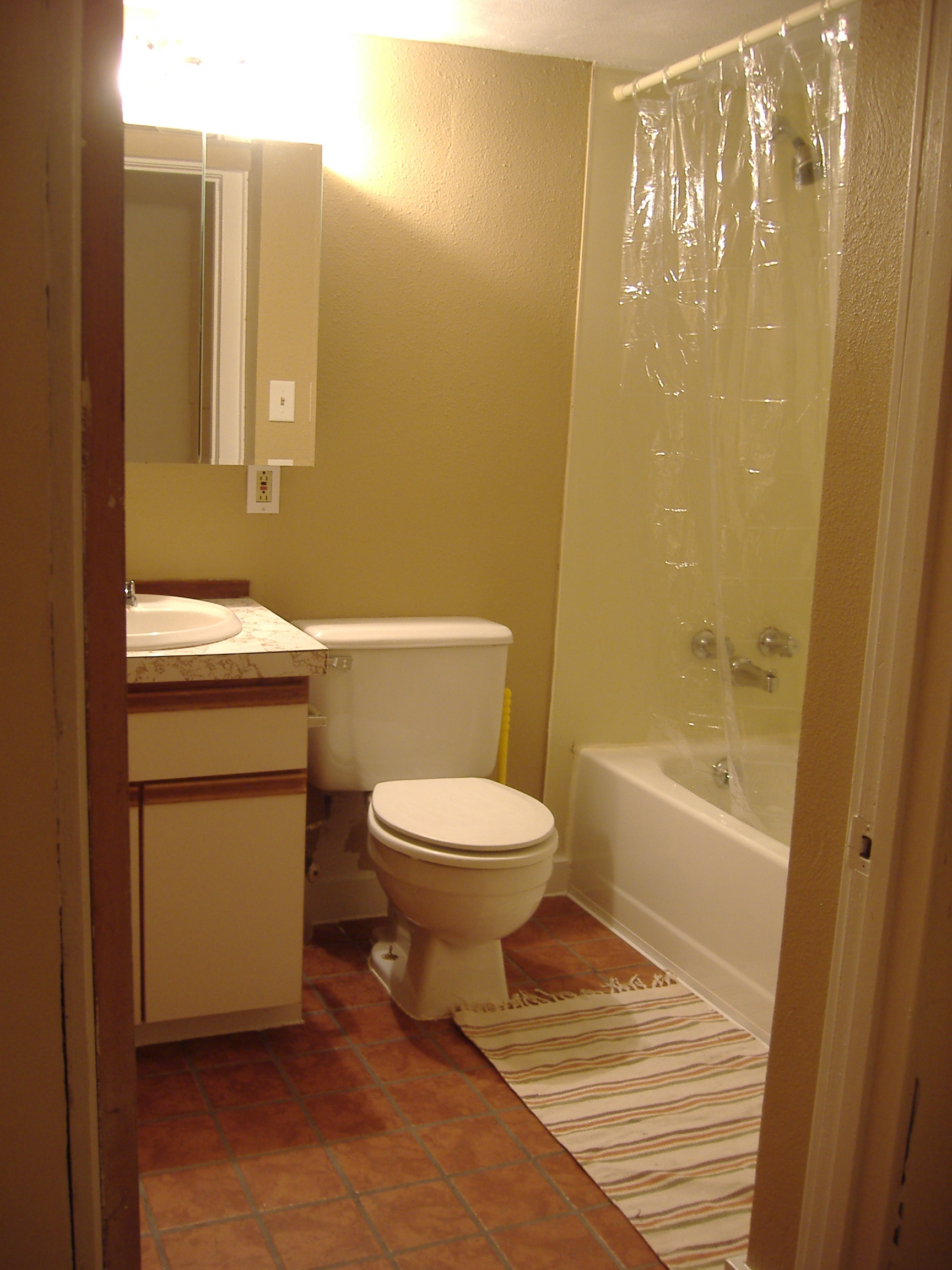 bathroom ideas apartment the basement apartment bathroom remodel take 2 - Apartment Bathroom